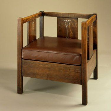 Arts And Crafts Period Stickley Chair Craftsman Style Furniture