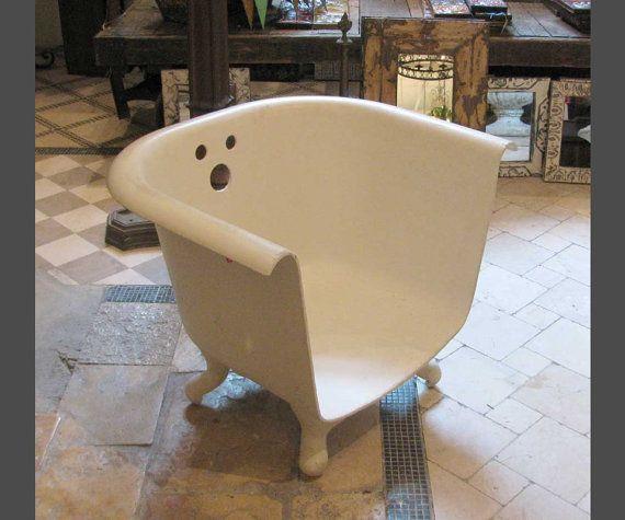 Darling Claw Foot Bathtub Chair Http Www Etsy Com Listing