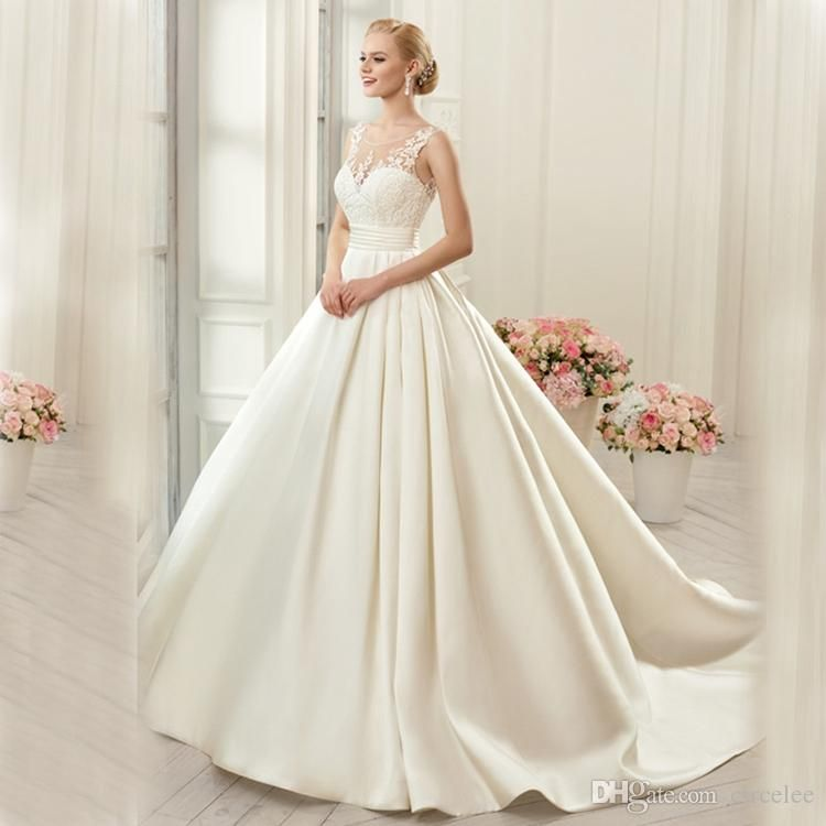 Discount Robe De Soiree Sweetheart Light Champagne Bridal Gowns 2017 ...