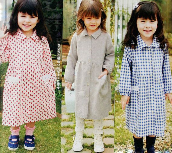 sewing patterns children wind coat dust coat windbreak pattern baby clothes pattern infant wear newborn patterns photo prop children clothes
