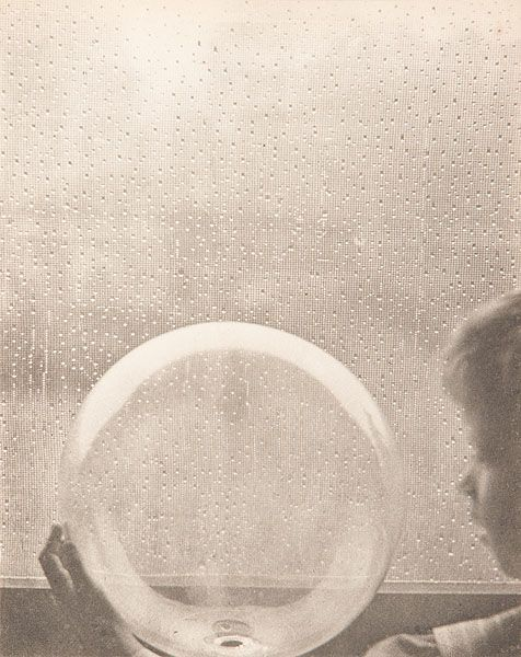 Clarence H. White, Drops of Rain, 1908. S)