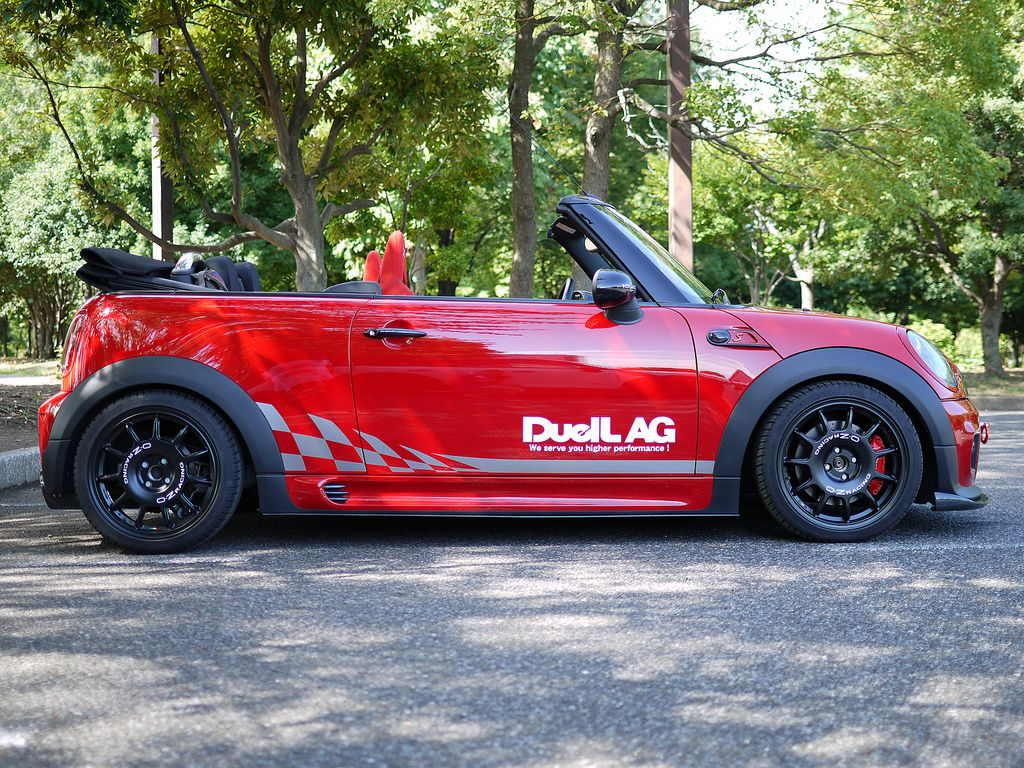 """Leggenda 17"""" on Mini Cooper S Cabrio by Duell AG from"""