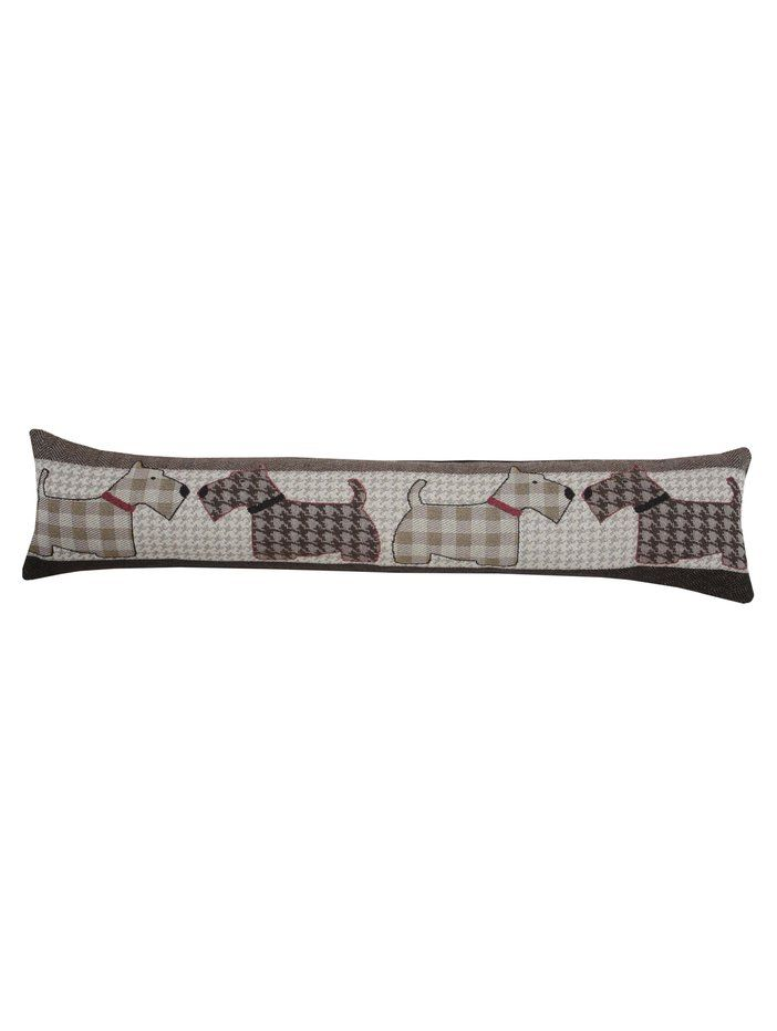 M Homeware Scottie dog draught excluder
