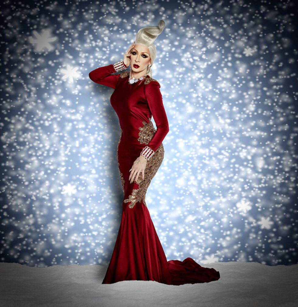Drag Queen Christmas.Pin On Drag Qweenz