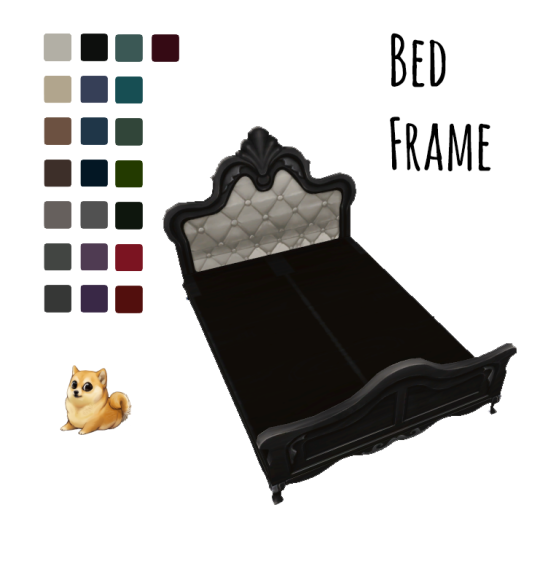 Gothic Double Bed Set Lexicon Luthor Ts4cc Ts4cc Sims 4 Sims
