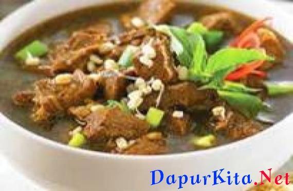 Resep Rawon Daging Food Recipes Traditional Food