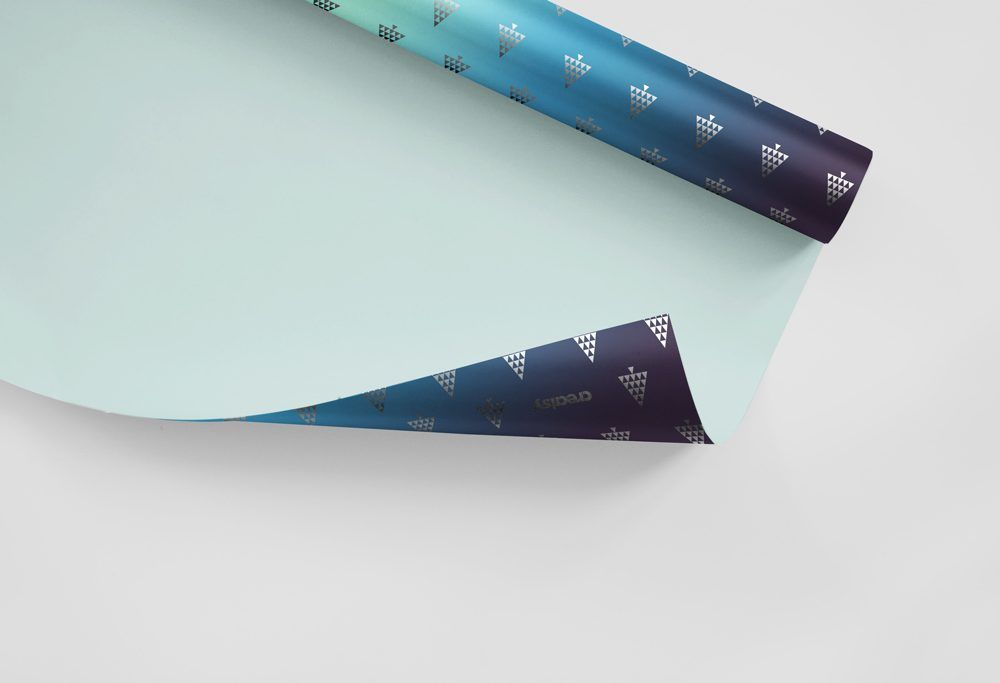 Presenting You A Gift Wrapping Paper Mock Up To Help You Create A Photorealistic Presentation For Your P Gift Wrapping Paper Free Packaging Mockup Paper Mockup