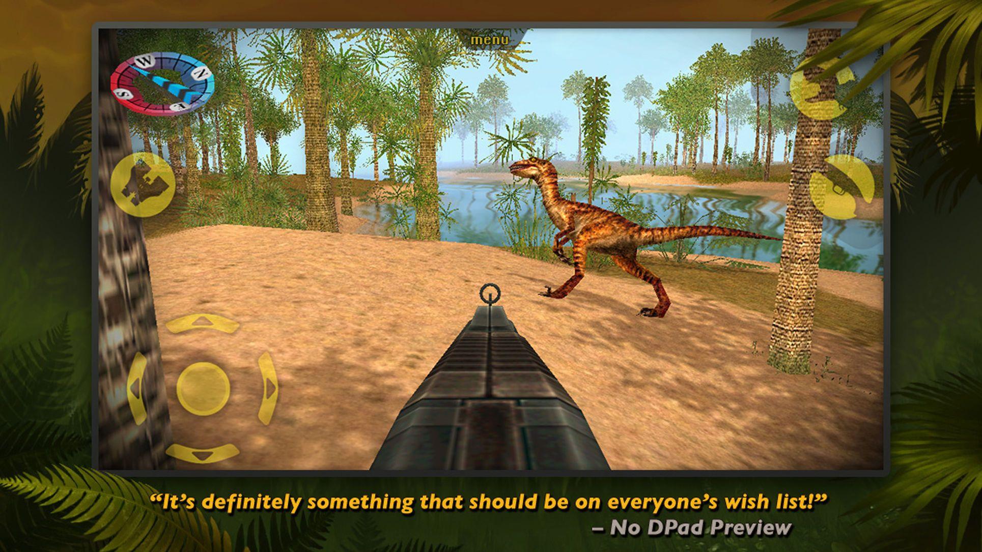 Carnivores Dinosaur Hunter EntertainmentActionios