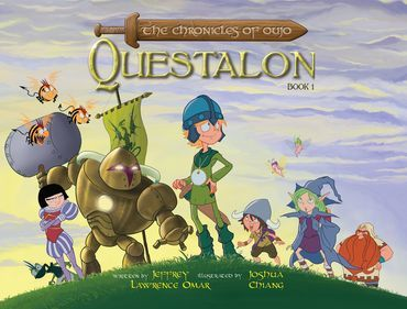 The Chronicles of Oujo: Questalon by Cerealbox Studios  The Chronicles of Oujo is a tale of one boy's journey to realise his dream of being an adventurer.  This book was successfully funded on Publishizer.