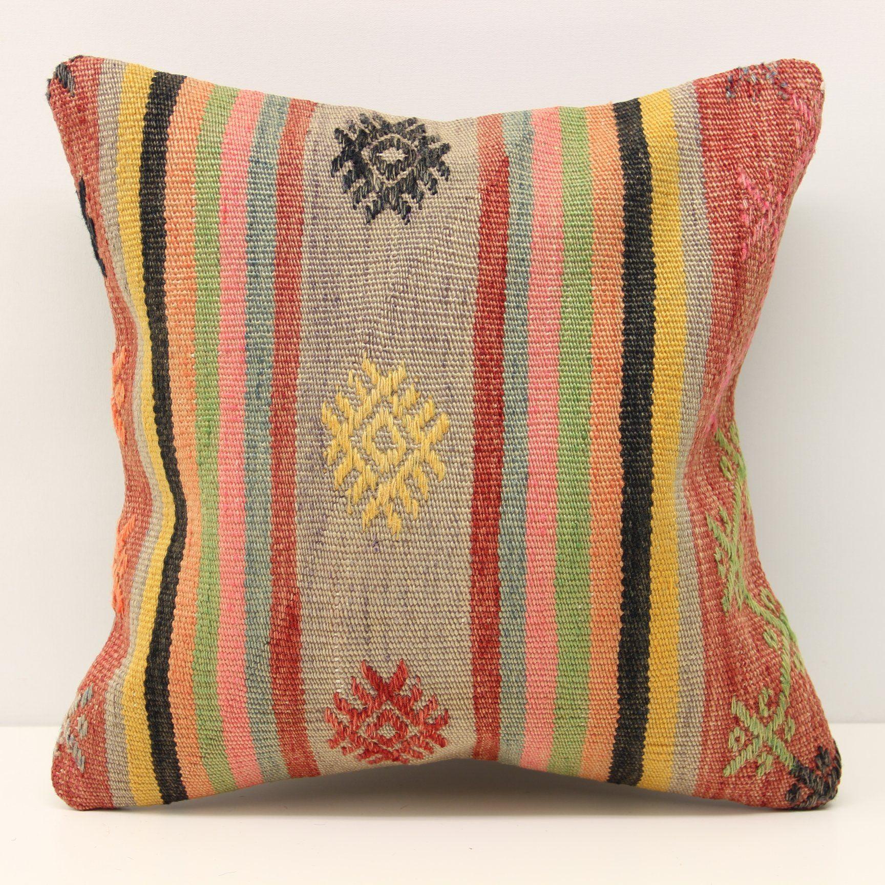Rustic kilim pillow cover x feet x cm anatolian kelim