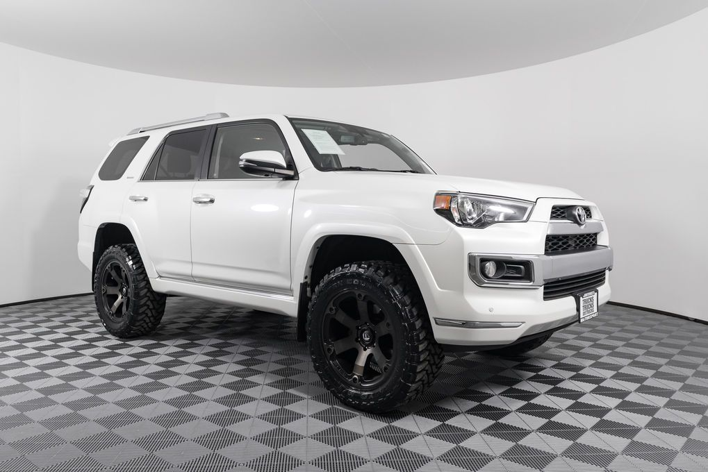 Lifted 4runner For Sale >> Used Lifted 2016 Toyota 4runner Limited 4x4 With 38 347