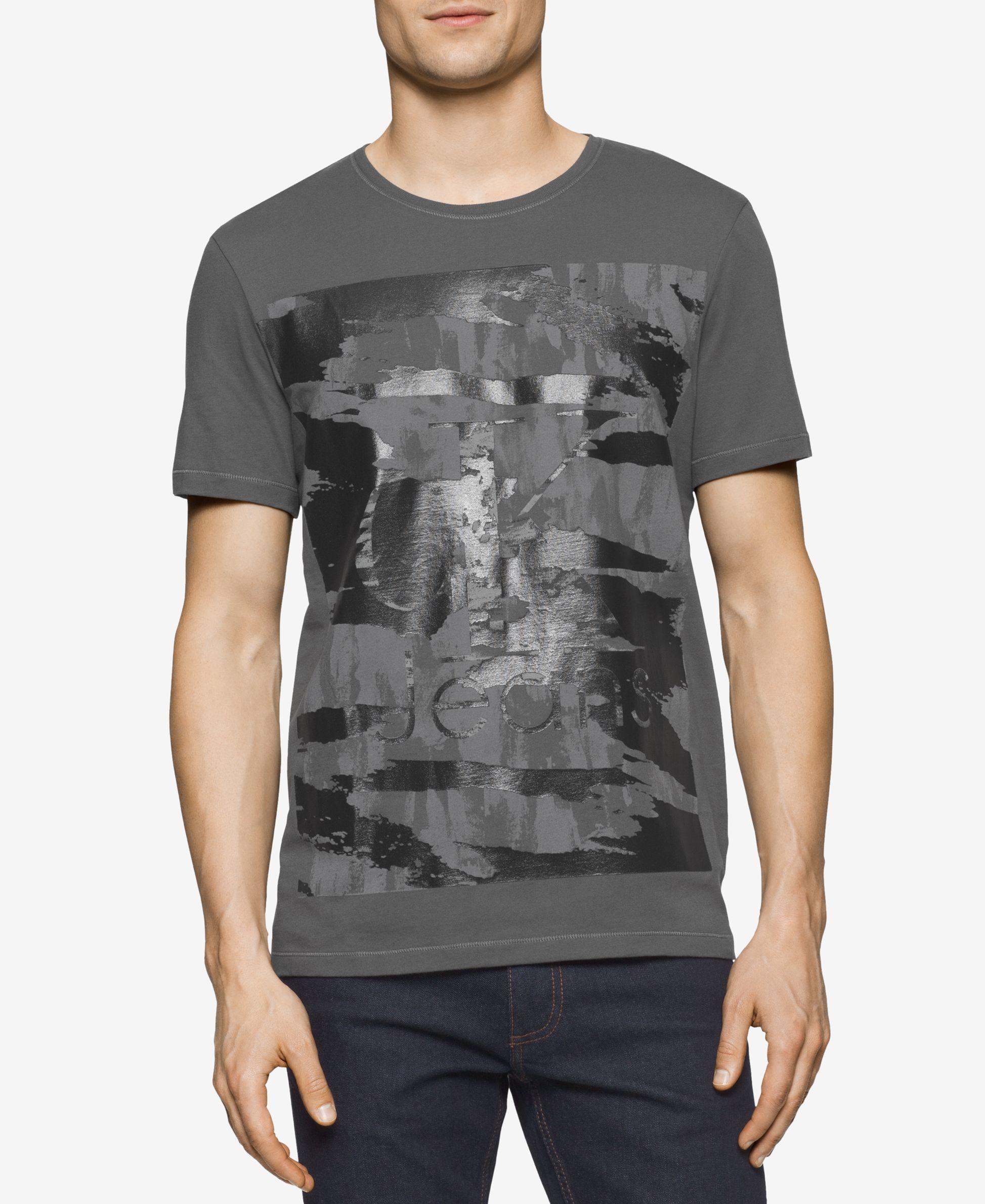 b9fc9c62cad04 Calvin Klein Men s Graphic-Print T-Shirt