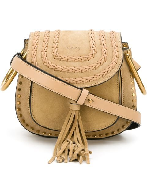bd778b89d36 Shop Chloé mini  Hudson  shoulder bag in Vitkac from the world s best  independent boutiques at farfetch.com. Shop 400 boutiques at one address.