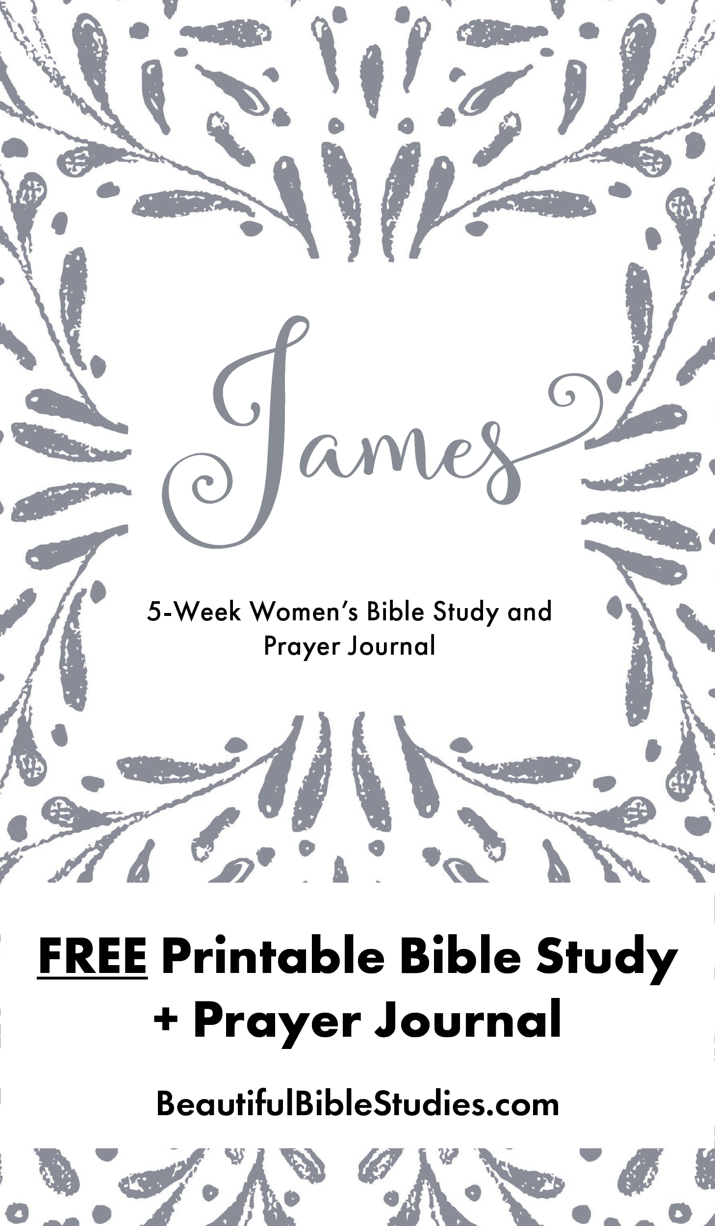 free printable women's bible study guide and prayer journal. do you