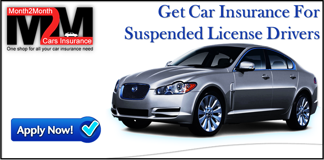How To Get No Credit Car Insurance For Suspended License Drivers
