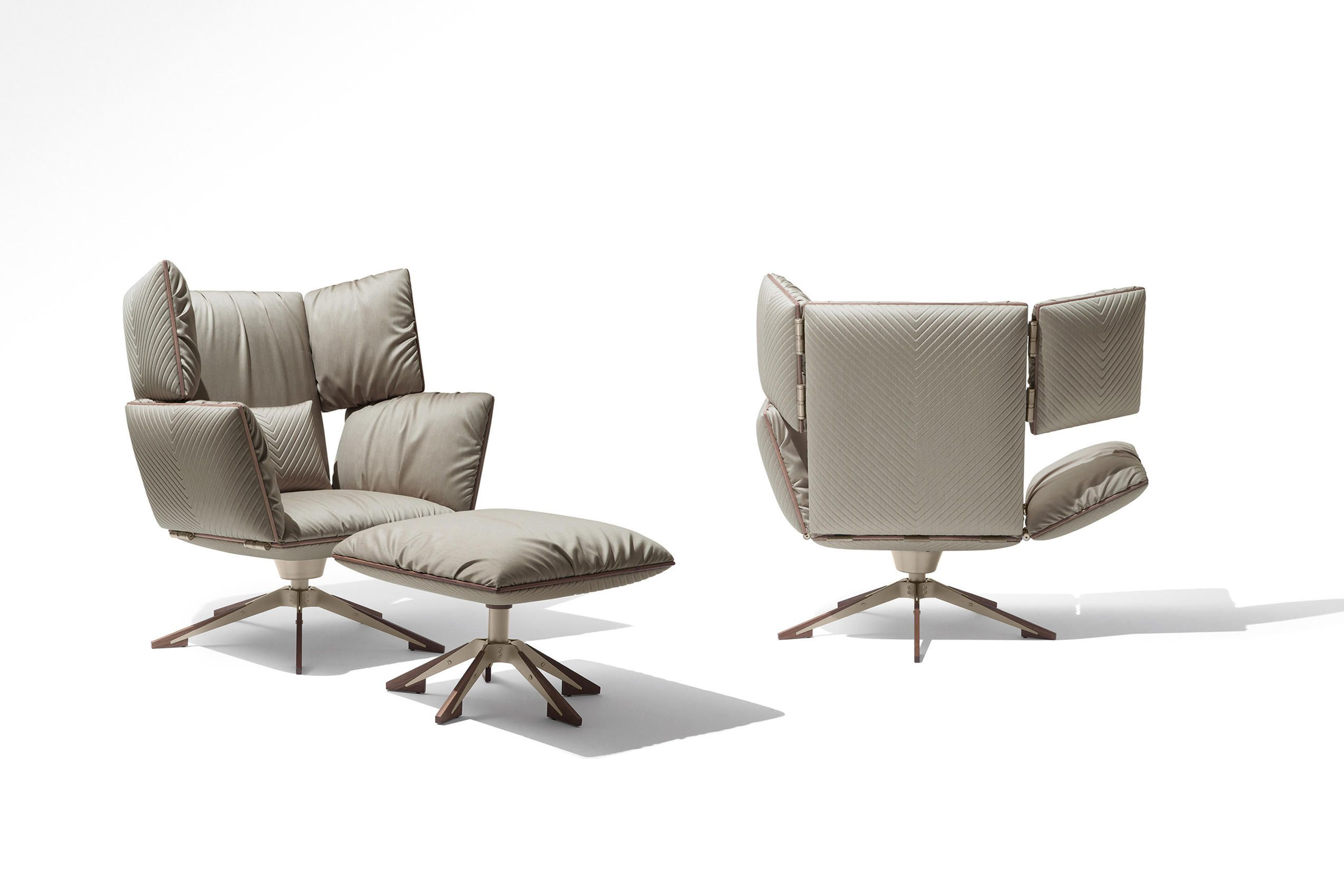 Sessel Giorgetti Sahara Wing Chair Designer Recliners From Giorgetti All
