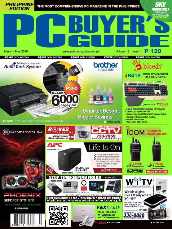 grab the latest issue of pc buyer s guide magazine available in all rh pinterest com pc buyers guide ph pc buyer's guide 2017