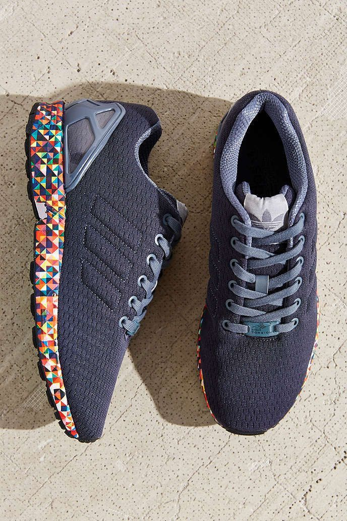 adidas zx flux with gold bottom