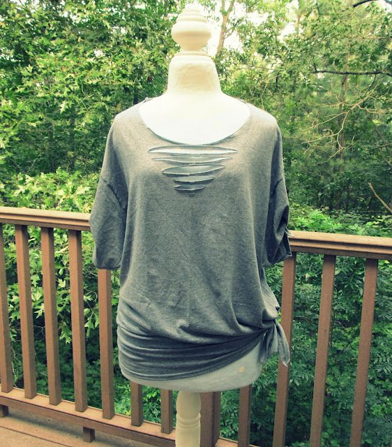 No Sew Triangle Tee-Shirt, DIY
