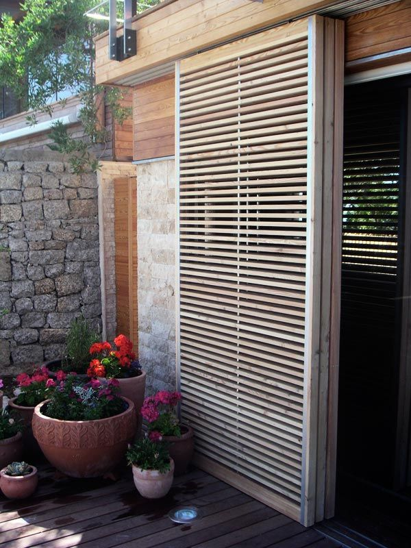 House Key Cape Town Metal And Larch Timber Sliding Shutters By