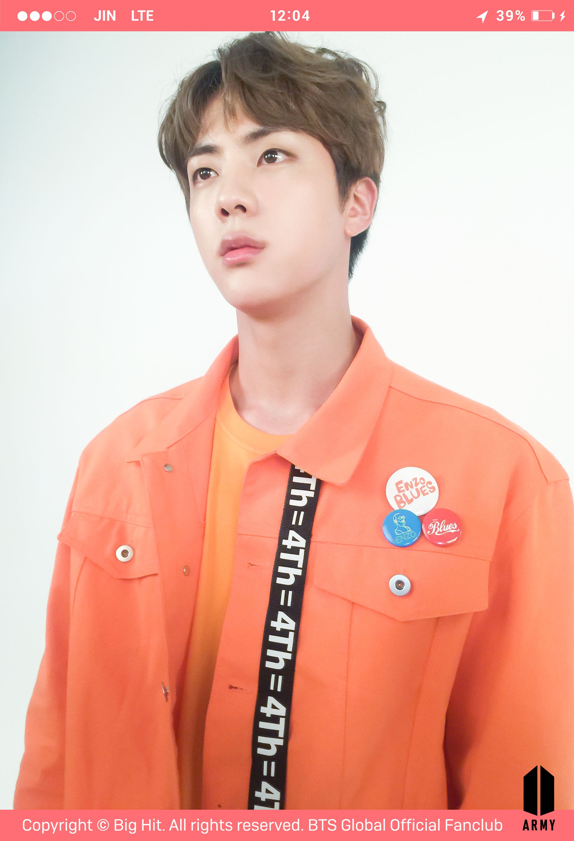 Happy Birthday Jin Bts Official Fancafe