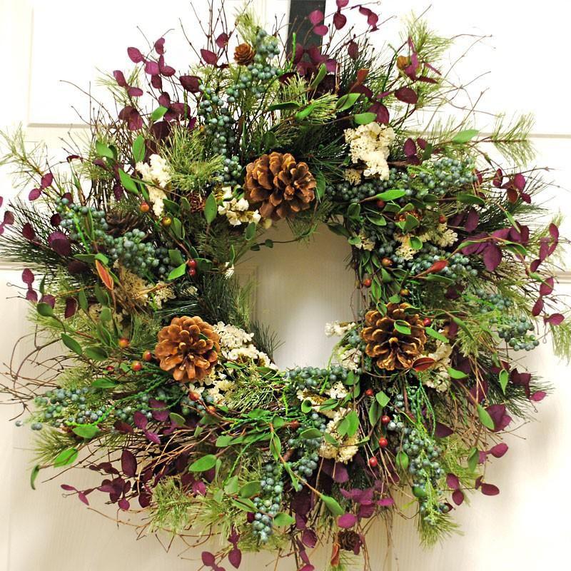 Custom Home Interiors Charlotte Mi: Pin On Front Door Wreath