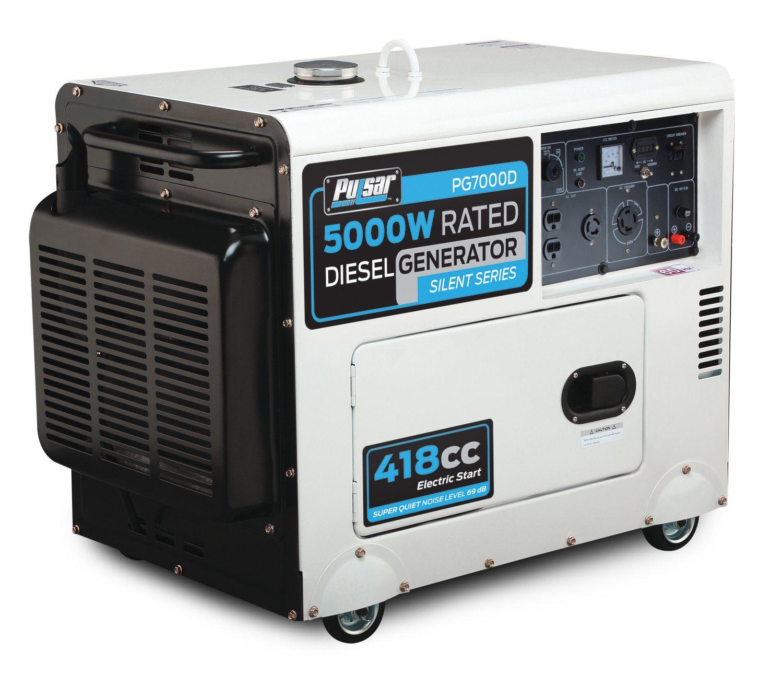 Pulsar Pg7000d Portable Generator Review Portable Diesel Generator Best Portable Generator Portable Generator