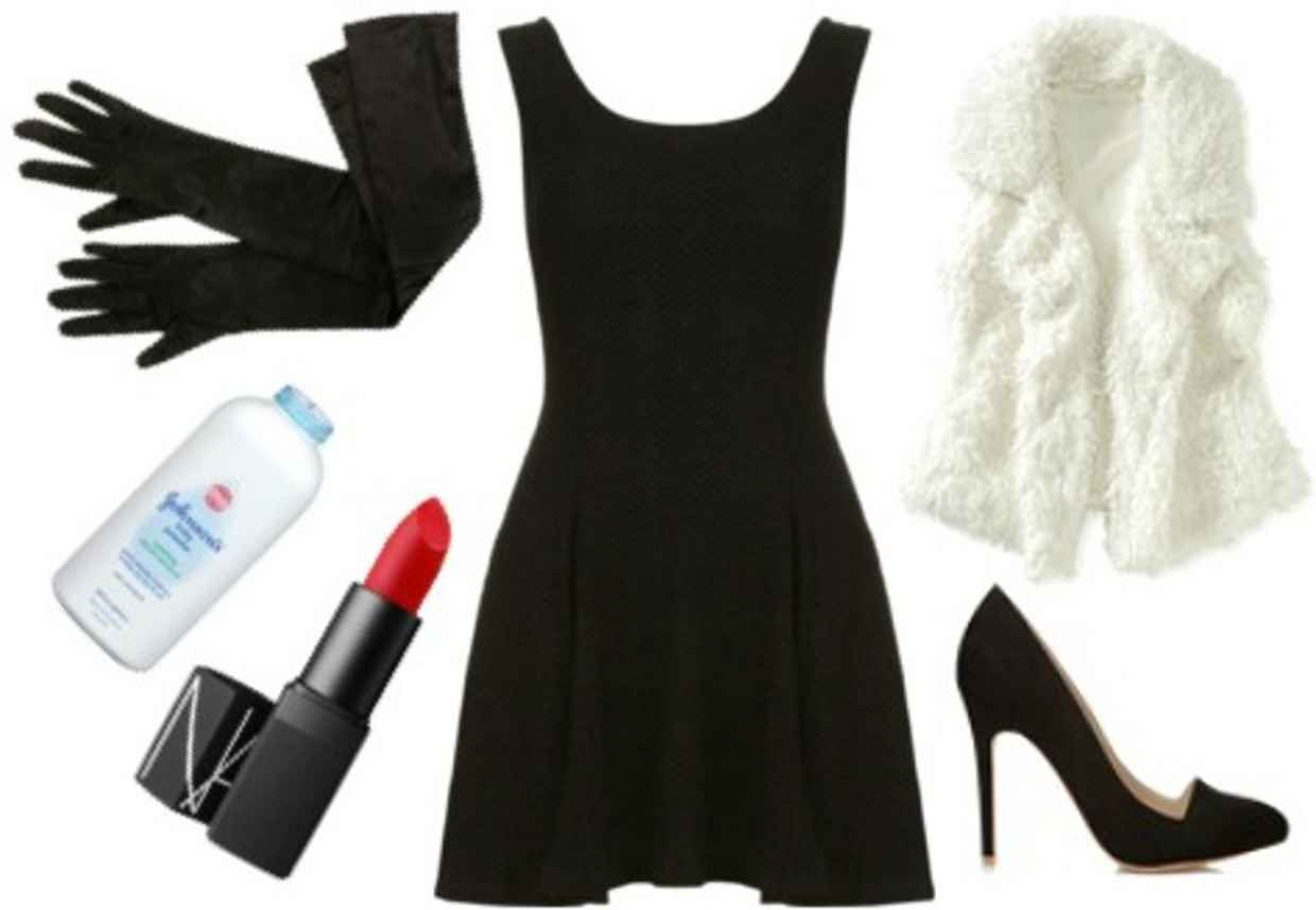 16 Little Black Dress Halloween Costume Ideas  Black dress