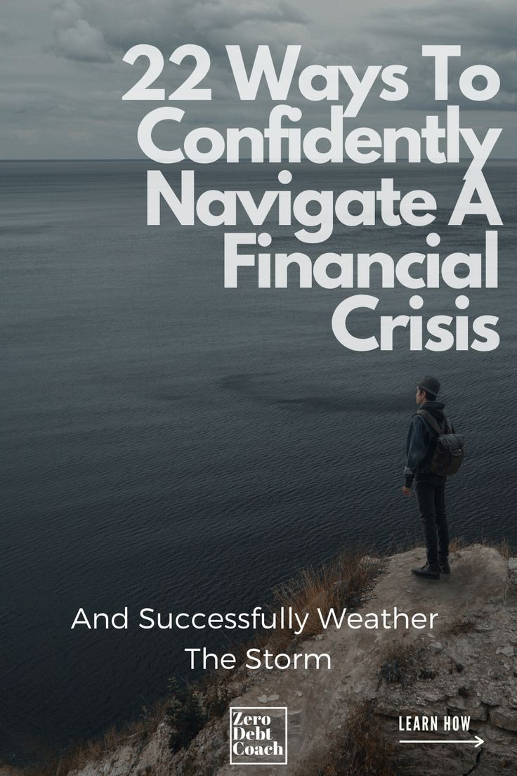 22 ways to confidently navigate a financial crisis in 2020
