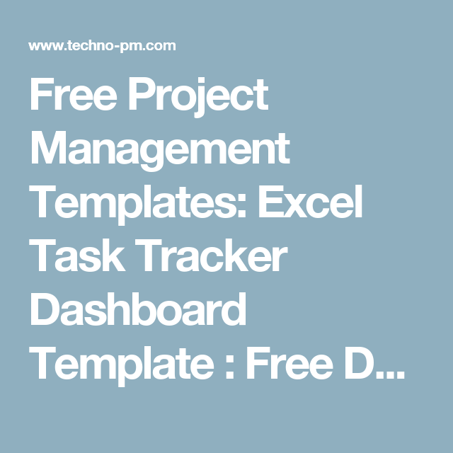 excel task tracker dashboard template 123 pinterest project