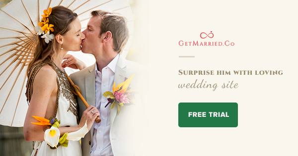@GetMarriedCo - Most awesome #weddingwebsite #wedsite ever. It has everything you ask for. Check it out! http://getmarried.co/