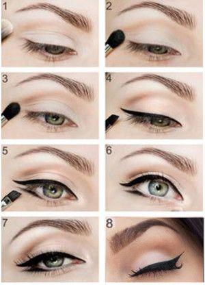 15 magische Make-up-Tipps, um Ihre Augen mit Kapuze in einer Minute zu verschönern