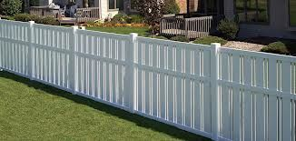 Three Common Types Of Pvc And Vinyl Fencing Are Pickets