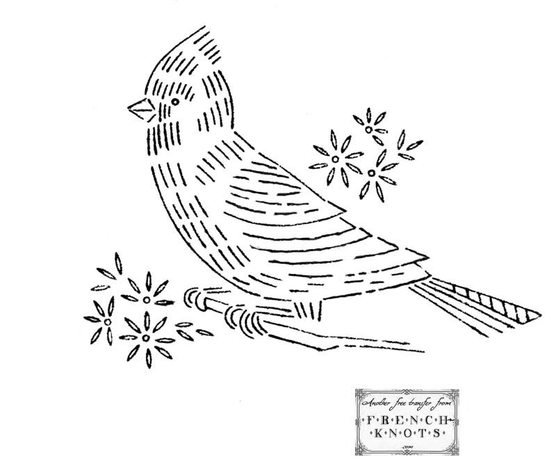 Cardinal Embroidery Clipart Embroidery Pinterest Embroidery