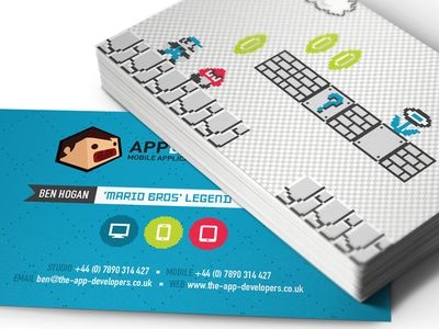 8bit Business Cards Prints Business Cards Cards Business