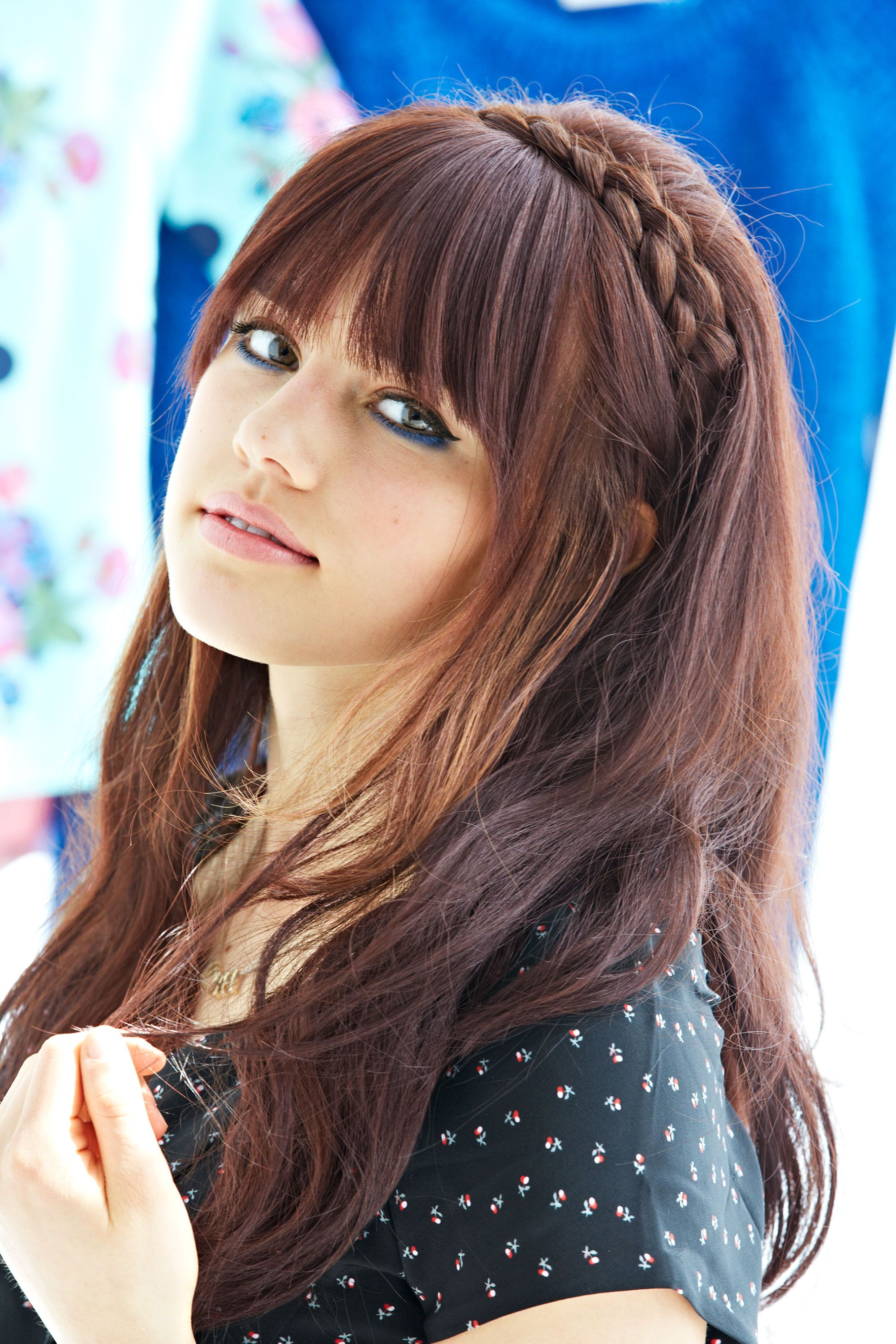 Braided Bangs Hairstyles 7 Adorable Hairstyles For Girls With Bangs Crown Braids Bangs