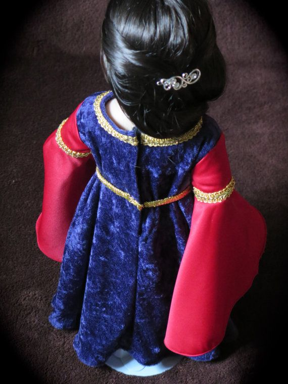 18 Inch Doll LOTR - Arwen Mourning Dress - Halloween Doll Costume ...
