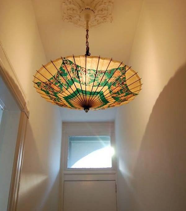 Lampadario (con lampadina a LED!) fatto utilizzando un ...