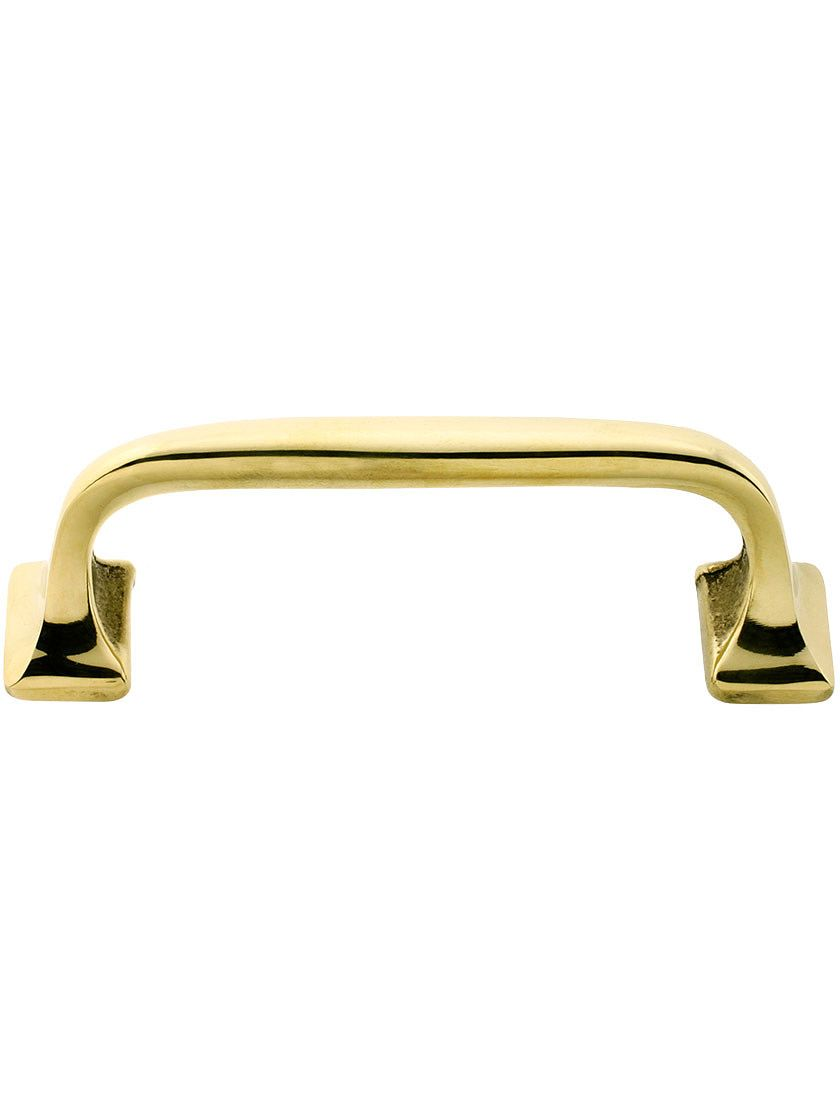 Classic Offset Drawer Pull - 3 1/2\