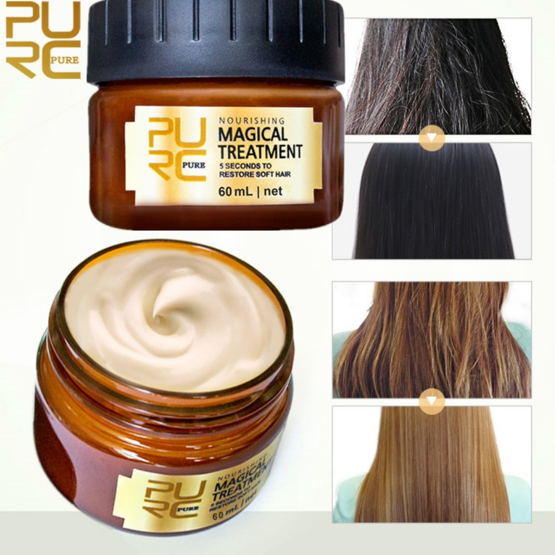 this product helps to prevent damaged hair and also makes