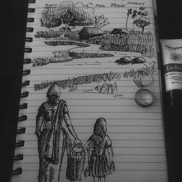What is a Foucault class for if not for doodling. #art #sketch #doodle