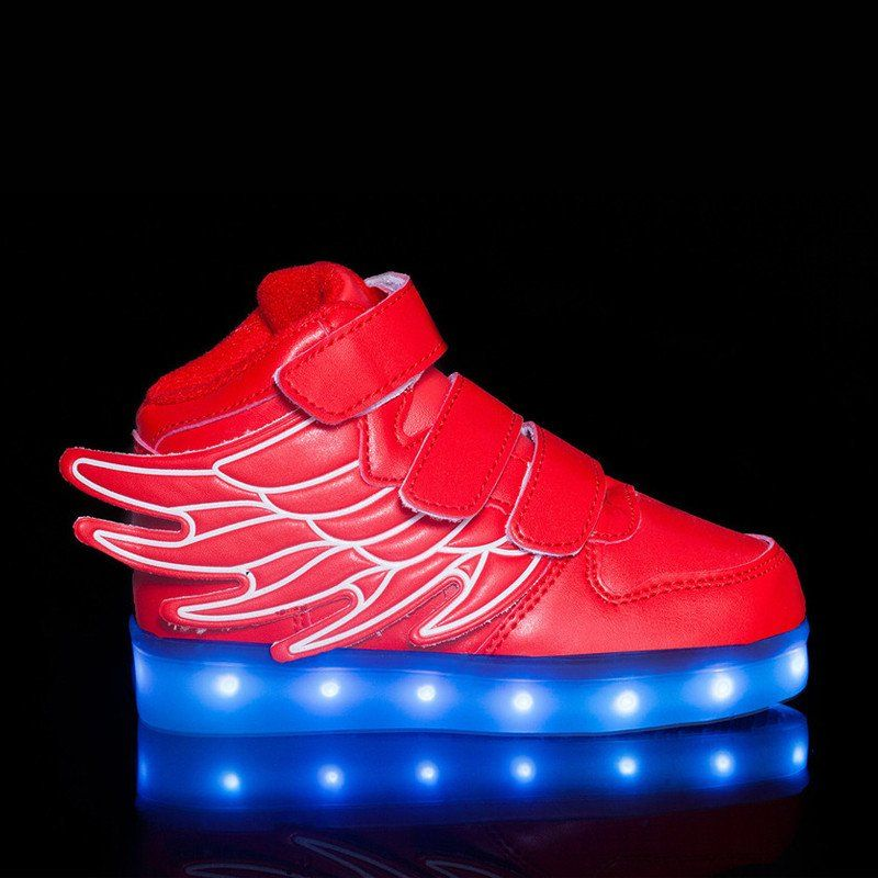 Best Kids Led Red Shoes   Light up