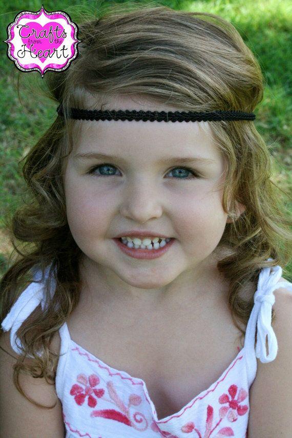 Black Boho Headband - Adult Boho Headband - Bohemian Headband - Boho ... 2a05debc71e