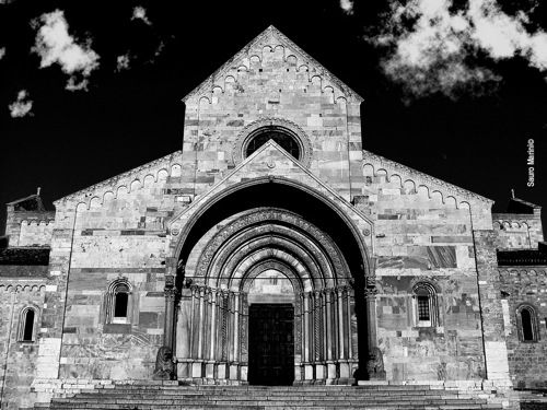 """cattedrale di San Ciriaco, Ancona  per """"nostro lunedì"""", l'amorosa spina 2008  luglio 2008"""