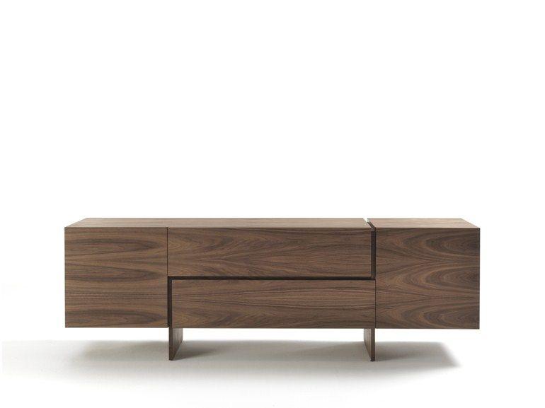 Madia in legno massello con cassetti AKI by Riva 1920 | design ...