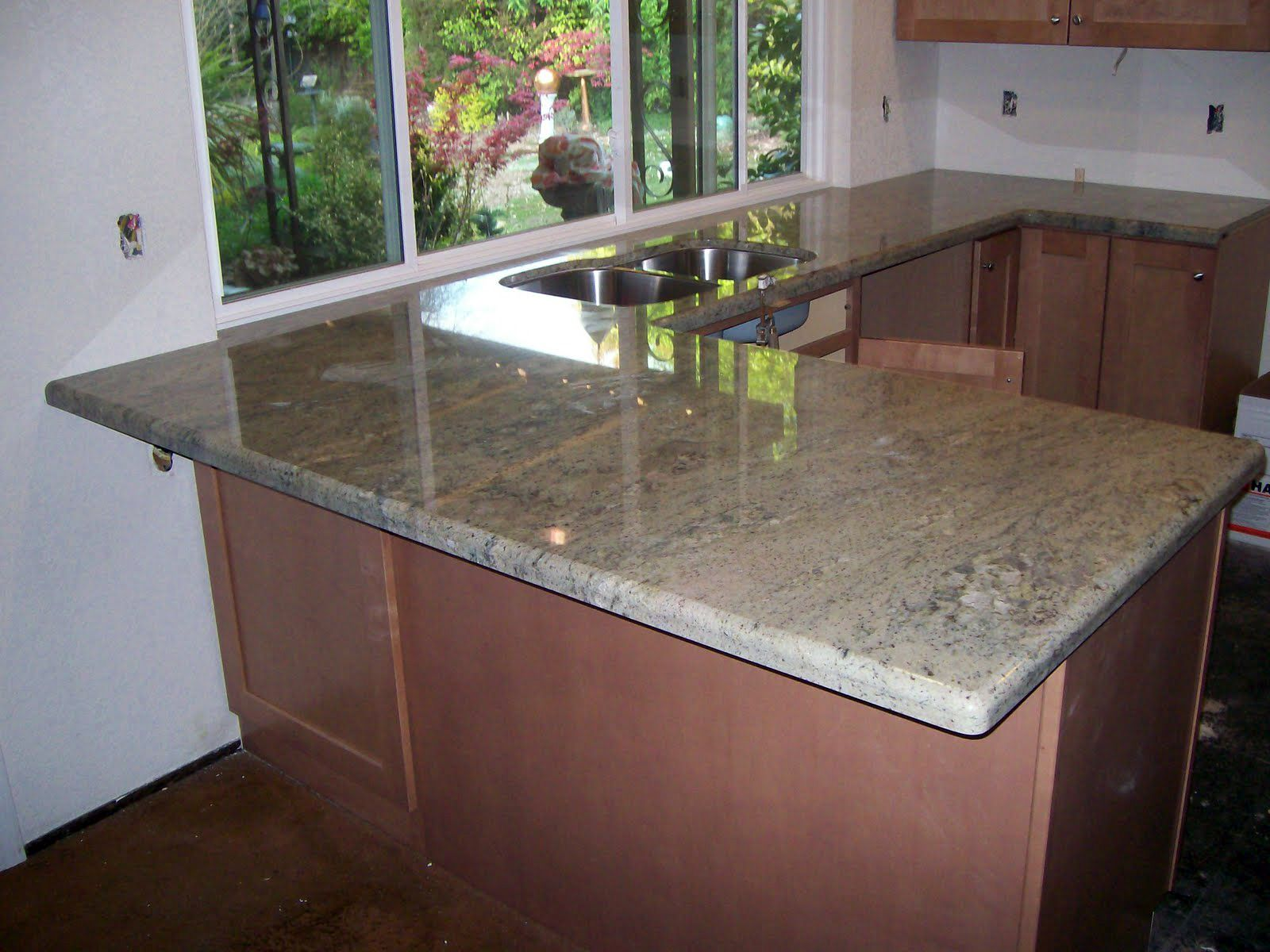 Typhoon Green Granite From India Is Available In Both Tiles And