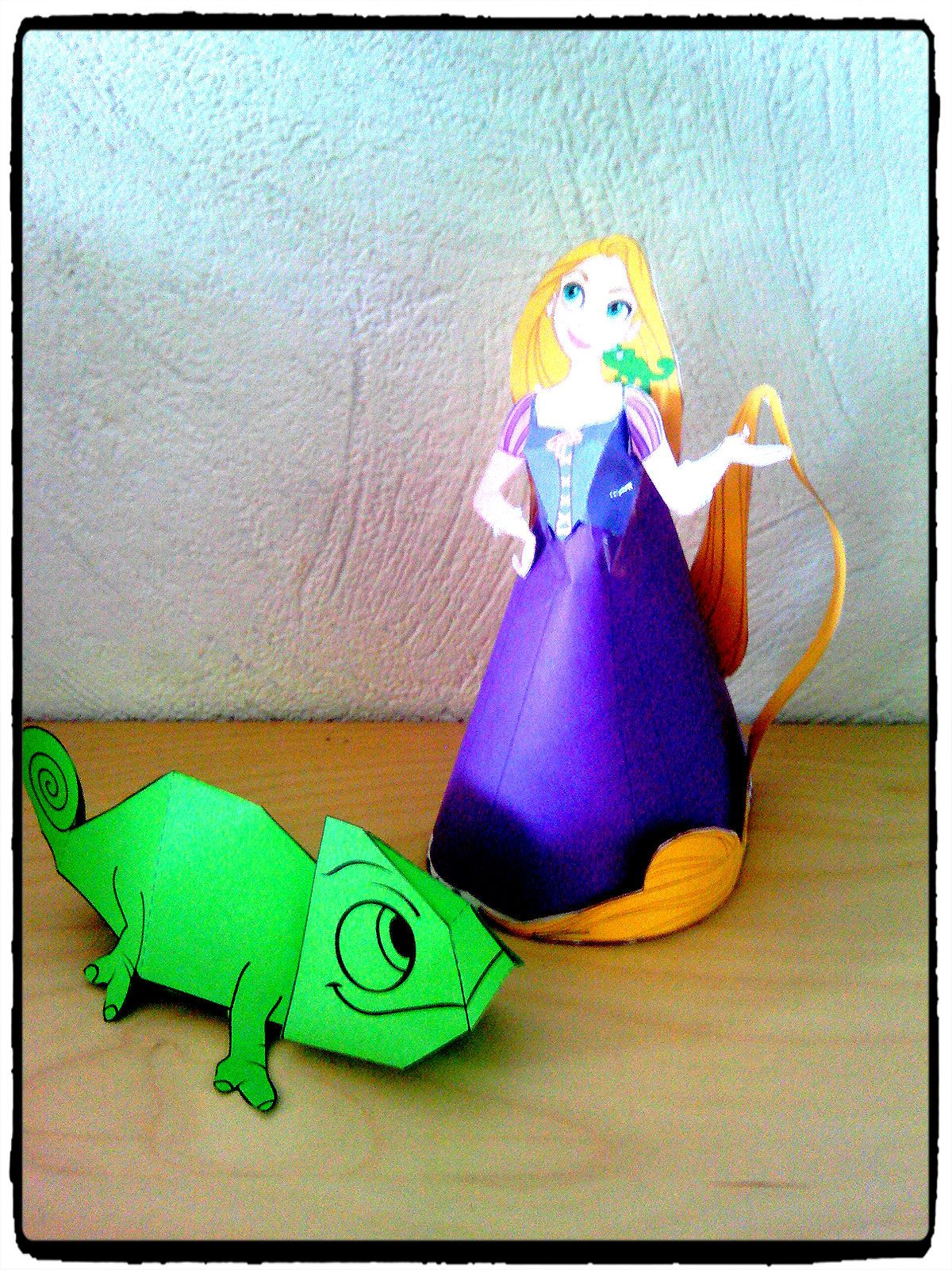 anniversaire 4 ans ashley thme raiponce mes humeurs cratives - Raiponce Pascal