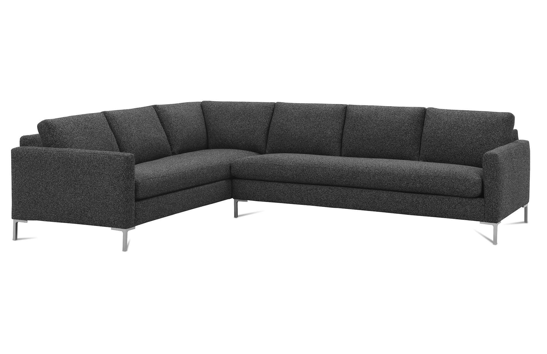 Modern Mix Plain Back Sectional Rowe Furniture