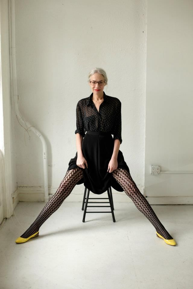 amazing American Apparel ads! She is 60!