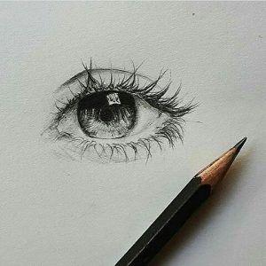 19+ Best Eye Drawings (Die 19 besten Bilder von Augen Zeichnen) – Art #realisticeye